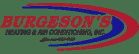 Burgeson Heating & Air Conditioning Logo