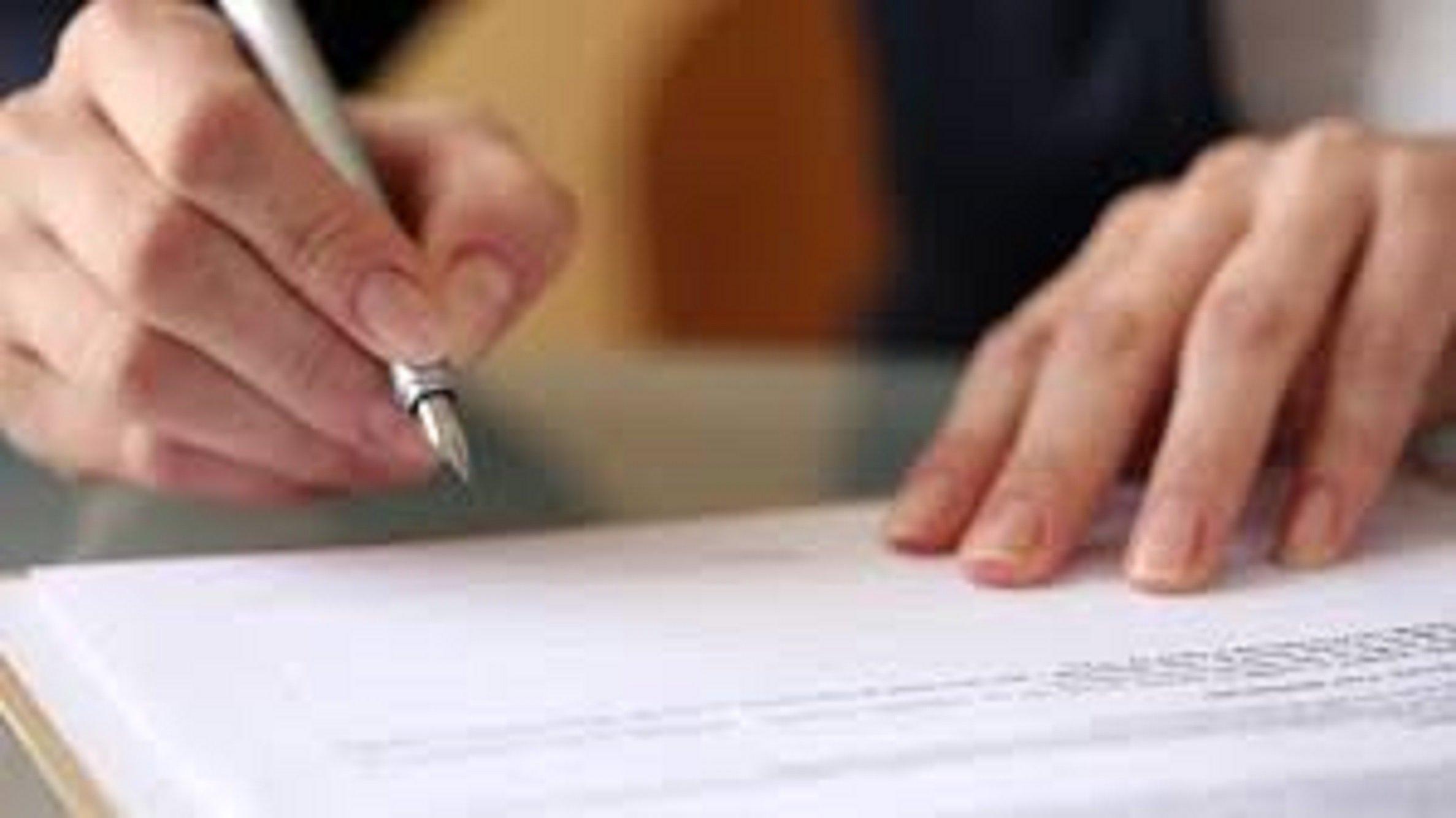 woman signing image-1